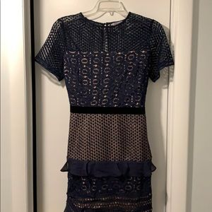 Brand new Clesea28 Lace cut out dress